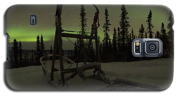 Sled Skeleton Aurora Galaxy S5 Case