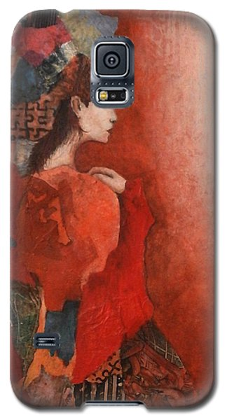 Galaxy S5 Case featuring the painting Sleep Walk by Buck Buchheister