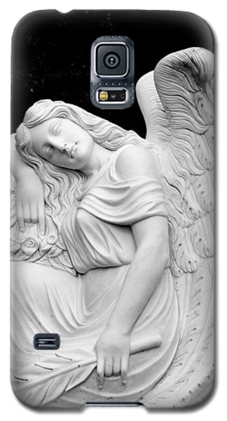 Galaxy S5 Case featuring the photograph Sleeping Angel by Jean Haynes