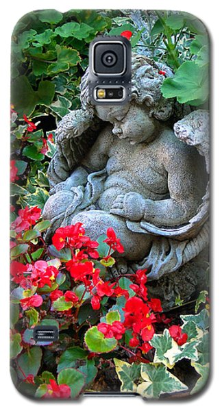 Sleeping Angel Galaxy S5 Case by Sue Melvin
