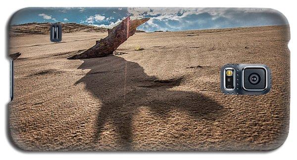 Galaxy S5 Case featuring the photograph Sleeping Bear Dunes Sun Shinning  by John McGraw