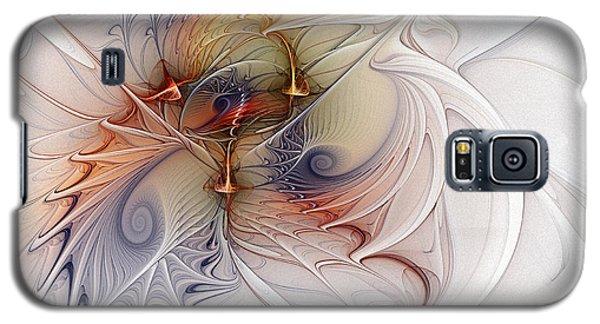 Galaxy S5 Case featuring the digital art Sleeping Beauties by Karin Kuhlmann