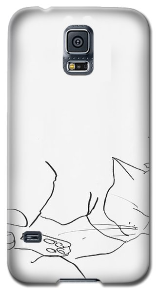 Sleeping Cat II Galaxy S5 Case