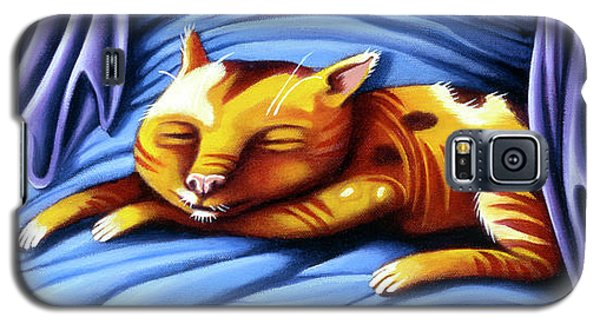 Sleeping Kitty Galaxy S5 Case