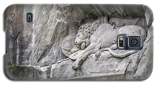 Sleeping Lion Of Lucerne  Galaxy S5 Case