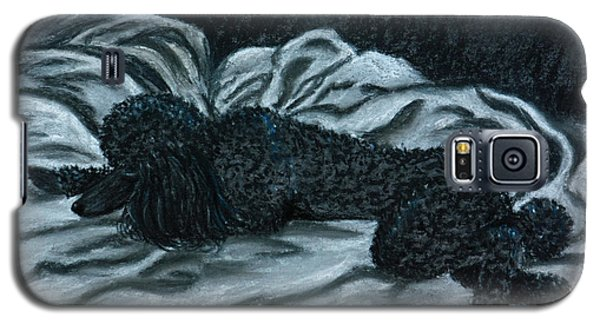 Sleeping Poodle Galaxy S5 Case