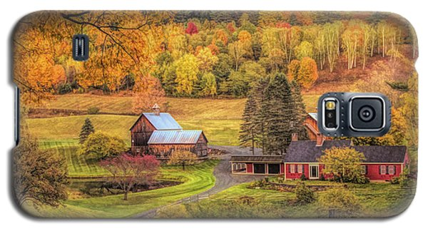 Sleepy Hollow - Pomfret Vermont In Autumn Galaxy S5 Case