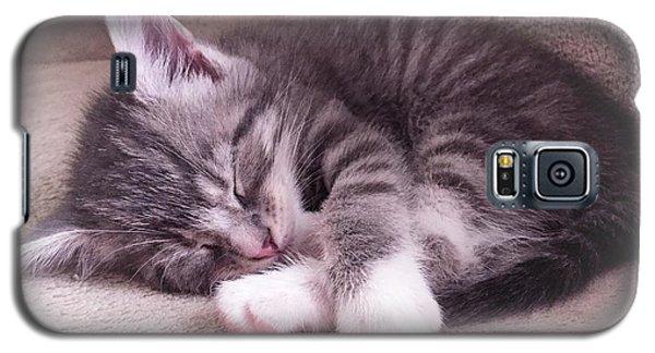 Sleepy Kitten Bymaryleeparker Galaxy S5 Case