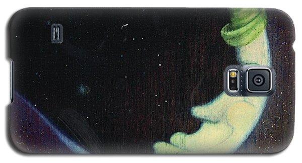 Sleepy Moon's Twin Brother Galaxy S5 Case