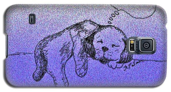 Sleepy Puppy Dreams Galaxy S5 Case