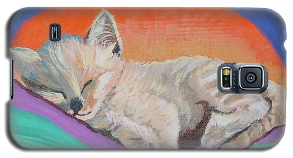 Galaxy S5 Case featuring the painting Sleepy Time by Phyllis Kaltenbach
