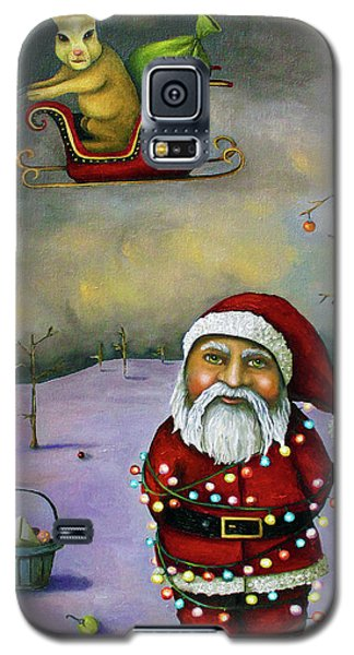 Sleigh Jacker Galaxy S5 Case by Leah Saulnier The Painting Maniac