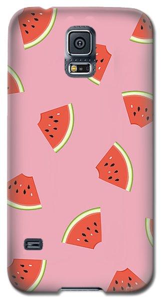 Watermelon Galaxy S5 Case - Slice Of Life by Elizabeth Tuck