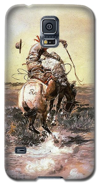 Slick Rider Galaxy S5 Case by Charles Russell