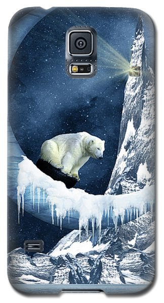 Sliding On The Moon Galaxy S5 Case