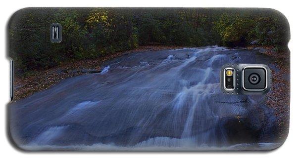 Galaxy S5 Case featuring the photograph Sliding Rock Falls by Ellen Heaverlo