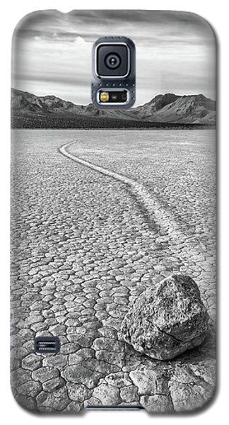 Sliding Stone, Racetrack Playa Galaxy S5 Case