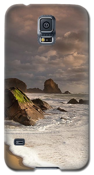 Slipping On Sand Galaxy S5 Case by Edgar Laureano