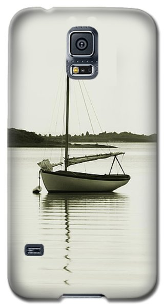 Galaxy S5 Case featuring the photograph Sloop At Rest  by Roupen  Baker