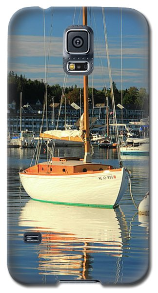 Galaxy S5 Case featuring the photograph Sloop Reflections by Roupen  Baker