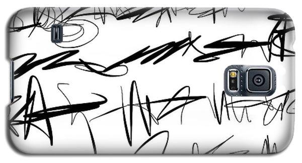 Sloppy Writing Galaxy S5 Case