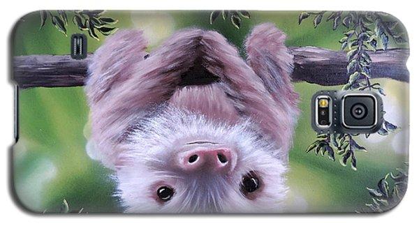 Sloth'n 'around Galaxy S5 Case by Dianna Lewis