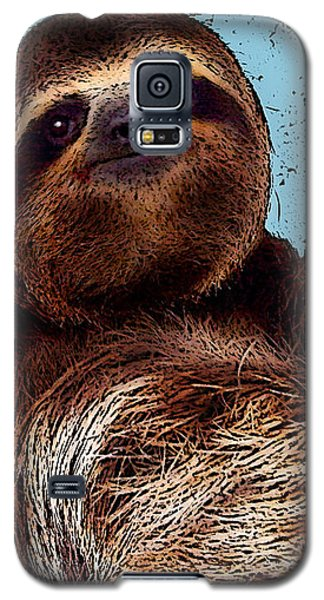 Sloth Pop Art Galaxy S5 Case