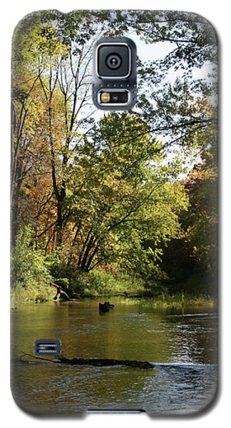 Galaxy S5 Case featuring the photograph Slow Go Mackinaw by Dylan Punke
