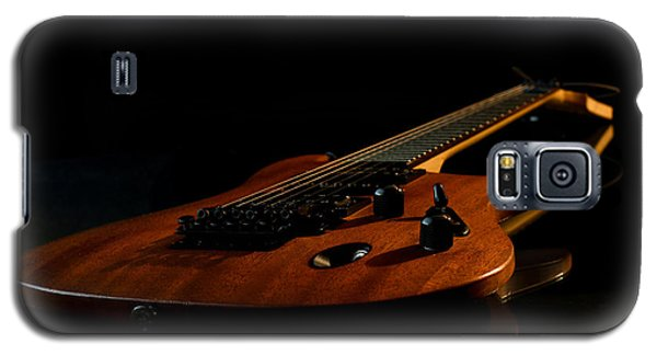 Galaxy S5 Case featuring the photograph Slow-hand-guitar by Franziskus Pfleghart