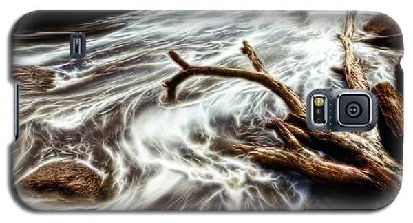 Slow Motion Sea Galaxy S5 Case