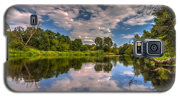 Slow River Reflections Galaxy S5 Case