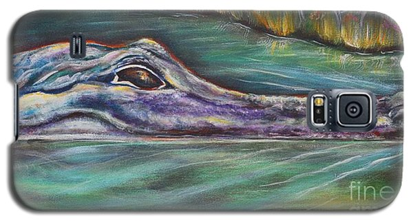 Sly Gator Galaxy S5 Case by Patricia Piffath
