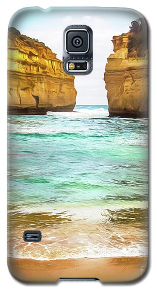 Galaxy S5 Case featuring the photograph Small Bay by Perry Webster