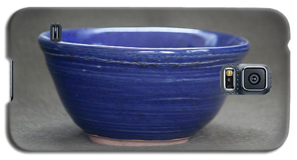 Small Blue Ceramic Bowl Galaxy S5 Case by Suzanne Gaff