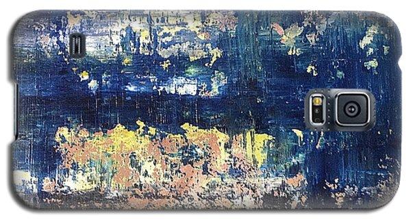 Small Blue Galaxy S5 Case