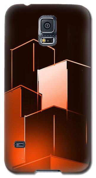 Small Buildings Galaxy S5 Case by John Krakora