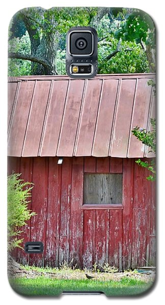 Small Red Barn - Lewes Delaware Galaxy S5 Case
