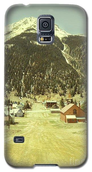 Galaxy S5 Case featuring the photograph Small Rocky Mountain Town by Jill Battaglia