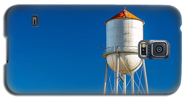 Small Town Water Tower Galaxy S5 Case by Todd Klassy