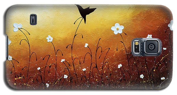 Galaxy S5 Case featuring the painting Small Treasure by Carmen Guedez