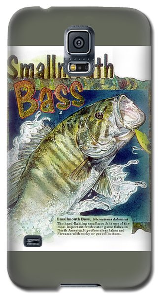 Smallmouth Bass Galaxy S5 Case