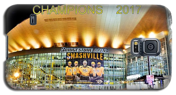 Smashville Western Conference Champions 2017 Galaxy S5 Case