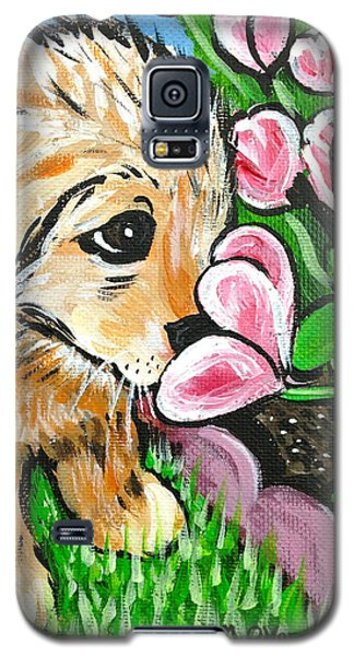 Smelling The Flowers Galaxy S5 Case