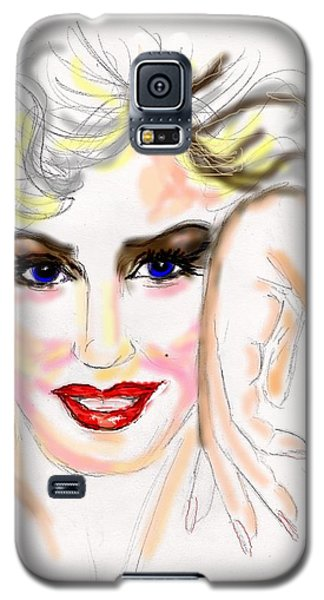 Smile For Me Marilyn Galaxy S5 Case