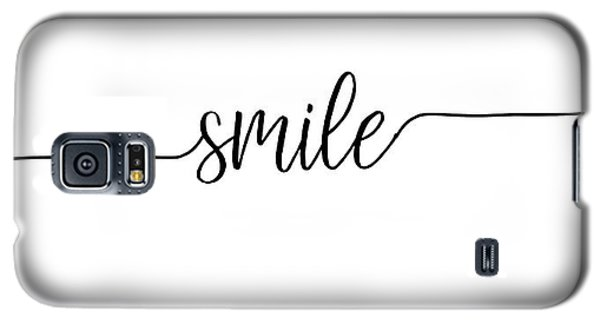 Galaxy S5 Case featuring the digital art Smile by Jaime Friedman
