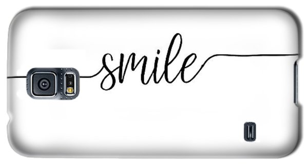 Smile Galaxy S5 Case by Jaime Friedman