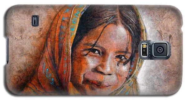 Smile Galaxy S5 Case by J- J- Espinoza