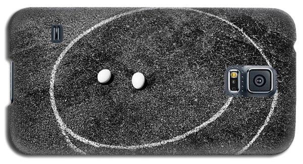 Smiley - Chalk N Eggs Galaxy S5 Case by Aimelle