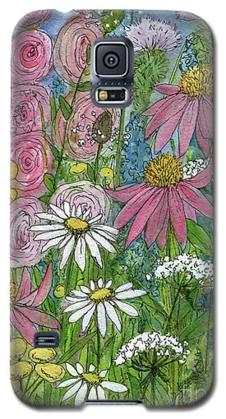 Smiling Flowers Galaxy S5 Case