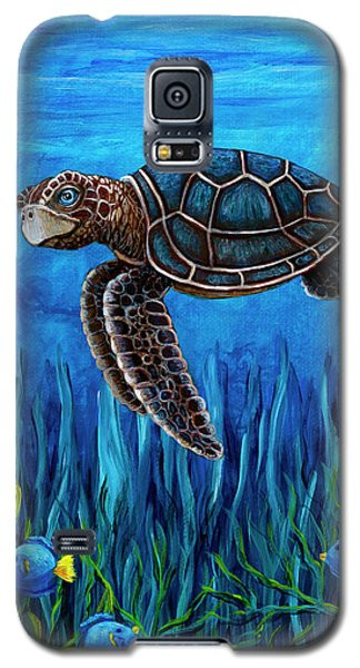 Smirking Turtle Galaxy S5 Case